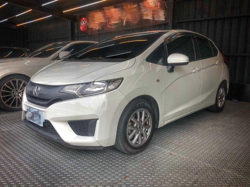 2017 Honda Fit 1.5 白