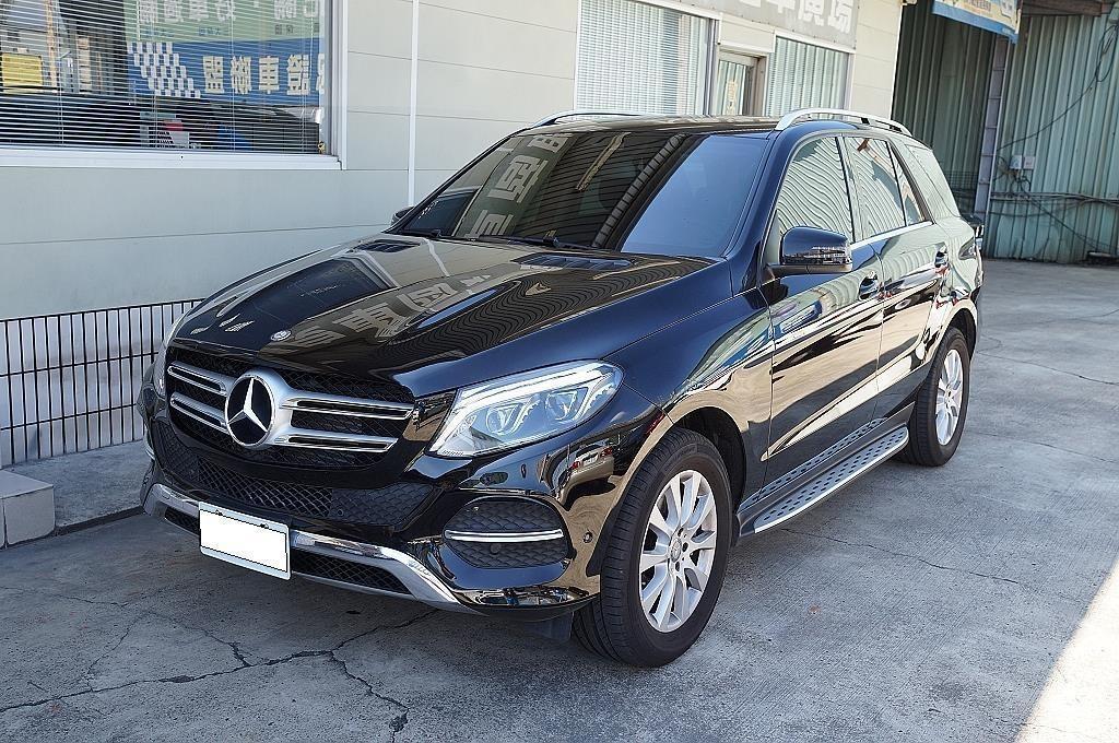 舜天車坊 Benz GLE 250d 2017款2.1L【極品】僅跑1萬多KM 定期原廠保養 可附全程保養紀錄
