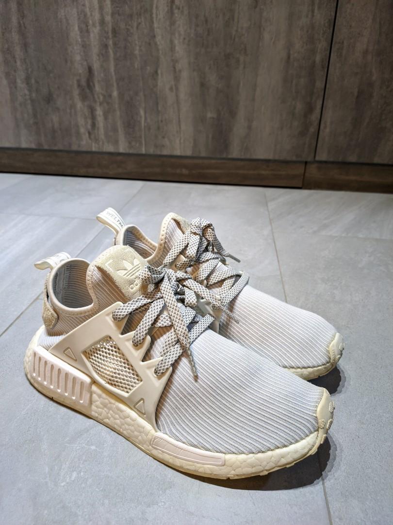 Adidas Nmd Xr1 Triple White Wmns Women S Fashion Shoes