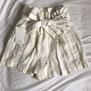 Aritzia Paperbag Shorts