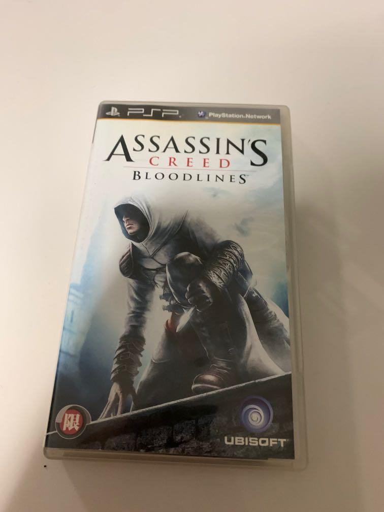 Assassin S Creed Bloodlines Psp Toys Games Video Gaming Video