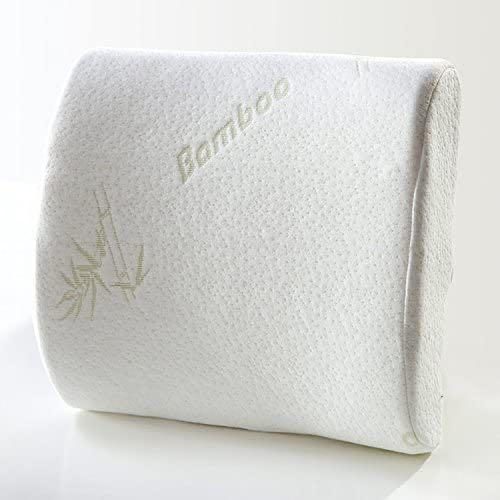 Bamboo for life back support memory foam pillow