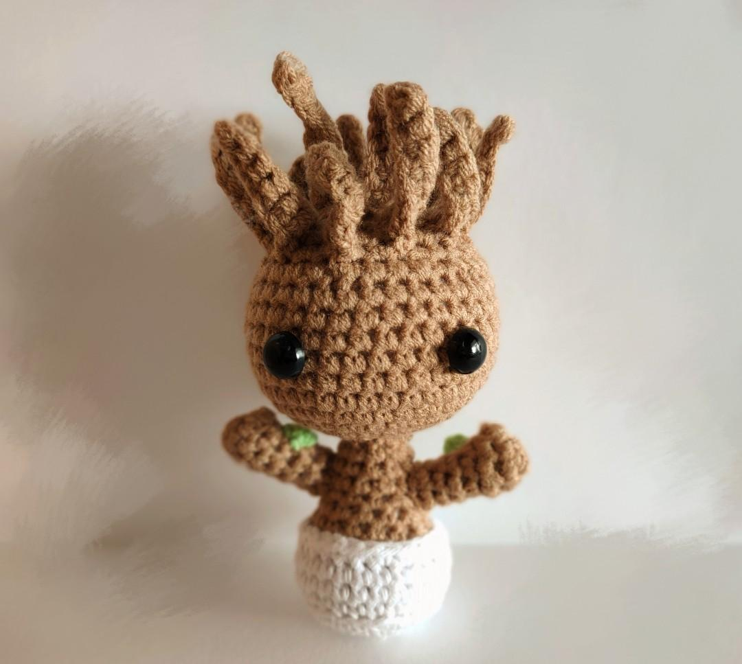▷Guardians of the Galaxy: Baby Groot selber häkeln - Anleitung ... | 967x1080