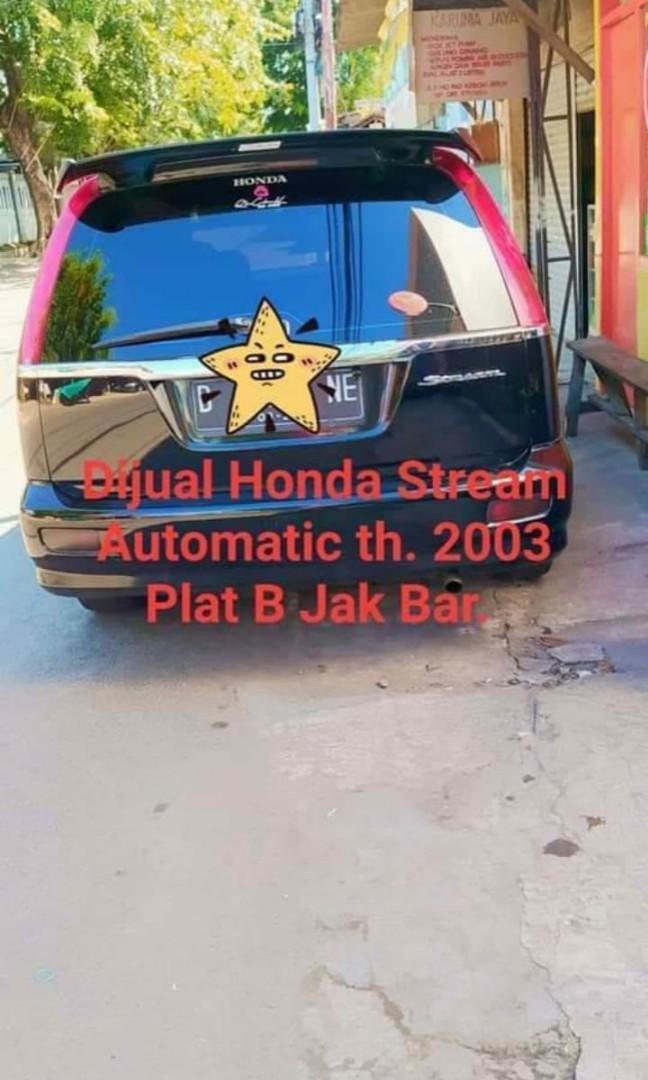 Dijual Honda Stream At. Thn. 2003