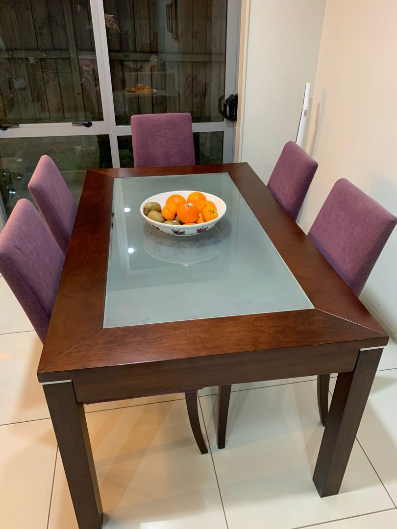 Dining + console table set