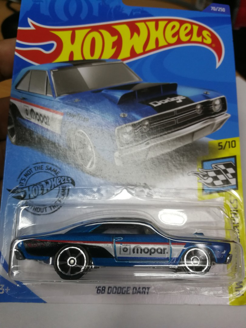 Hotwheels 68 Dodge Dart Toys Games Diecast Toy Vehicles On Carousell