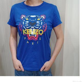 KENZO 寶藍經典虎頭上衣