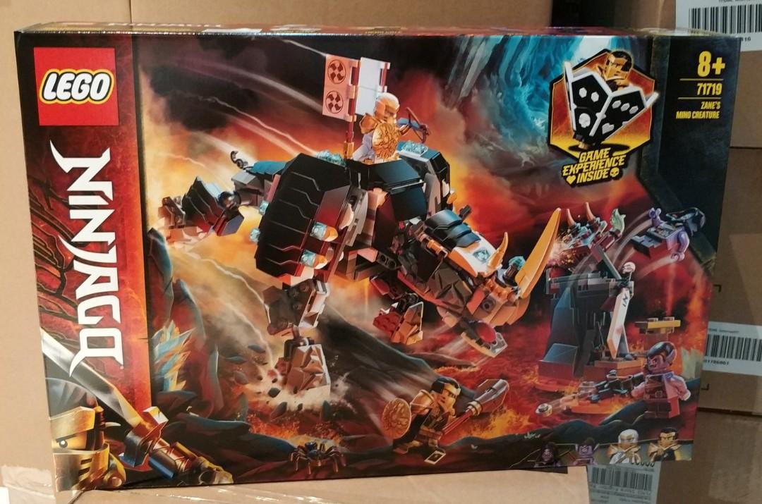 Lego 71719 Ninjago Zane's Mino Creature, 玩具 & 遊戲類, 玩具 ...
