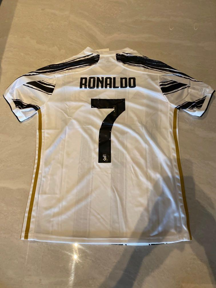 New 20 21 Season Juventus Home Kit Jersey M Size Ronaldo 7 Sports Sports Apparel On Carousell