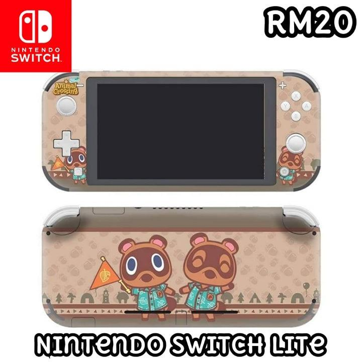 Nintendo Switch Lite Animal Crossing Skin Sticker B Video Gaming