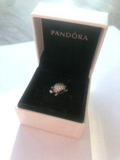 Pandora two sided turtle charm