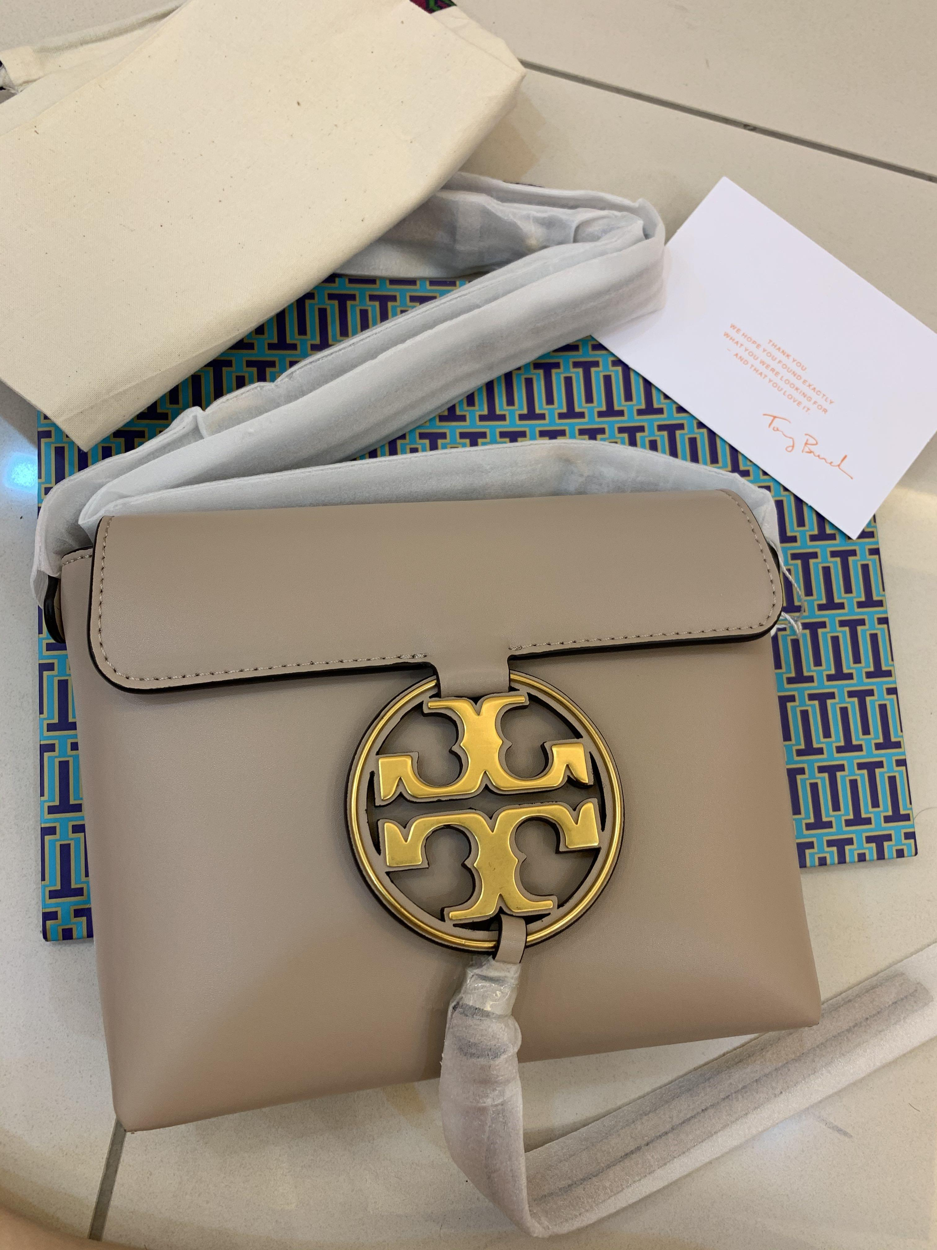 Ready Stock authentic Tory Burch Miller metal crossbody sling bag in DRYX
