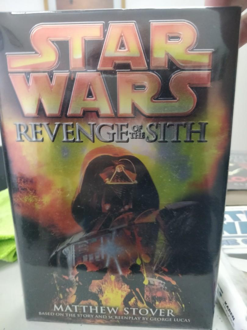 Star Wars Revenge Of The Sith Book Hardcover Matthew Stover Books Books On Carousell