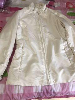 Uniqlo off white jacket
