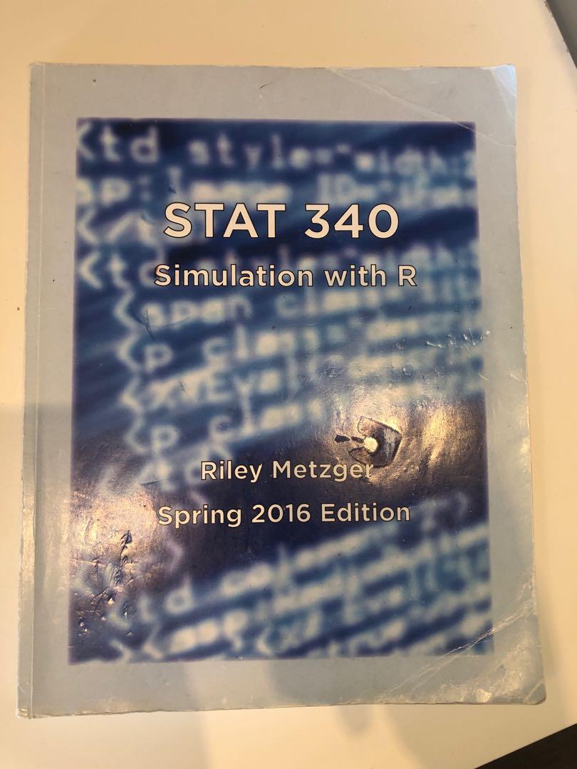 UW STAT 340 Textbook