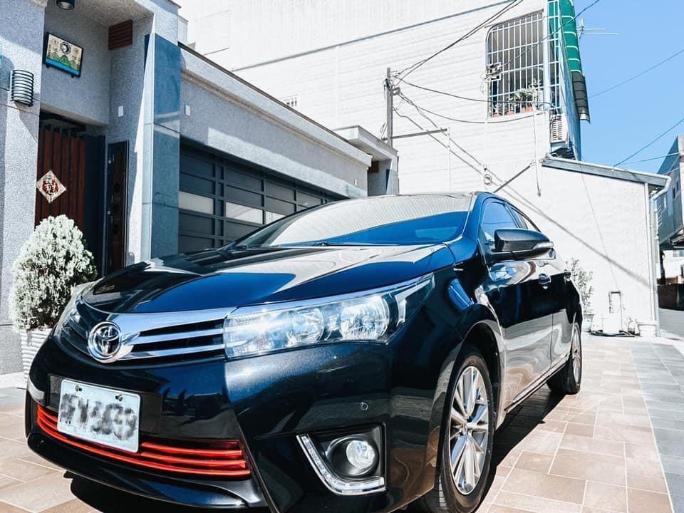 2013 Altis豪華天窗版 里程15w Toyota 豐田