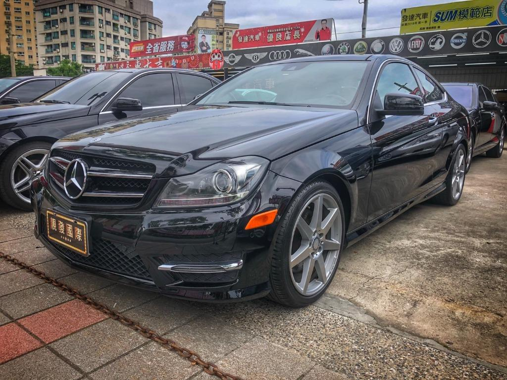 2013 Mercedes-Benz W204 C350 Coupe