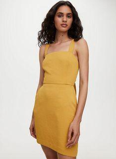 Aritzia Wilfred ecoulement mini dress