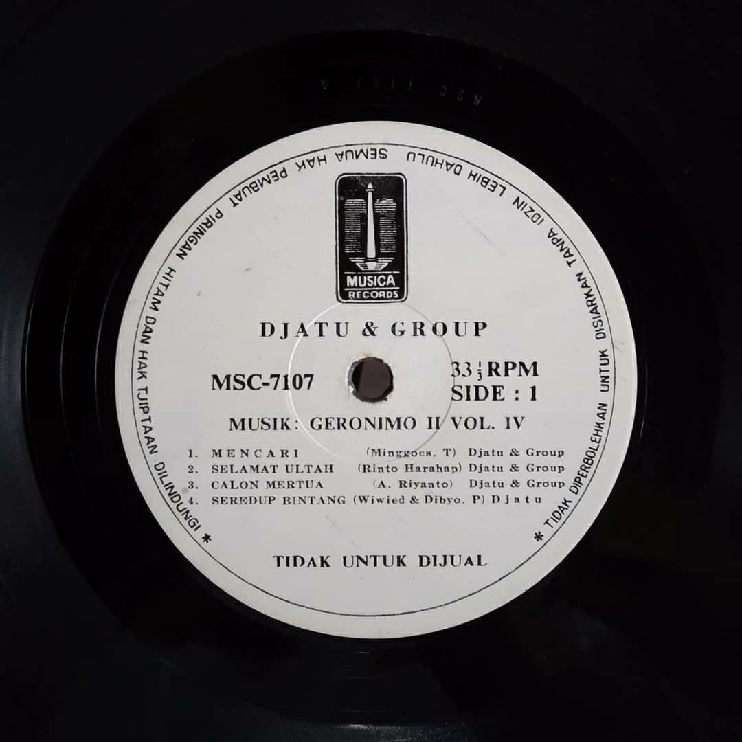Djatu & Group Vinyl Indopop