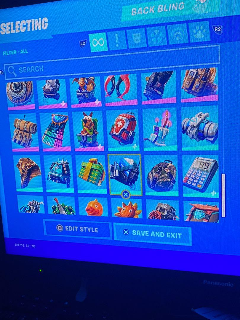 Fortnite oh stacked account