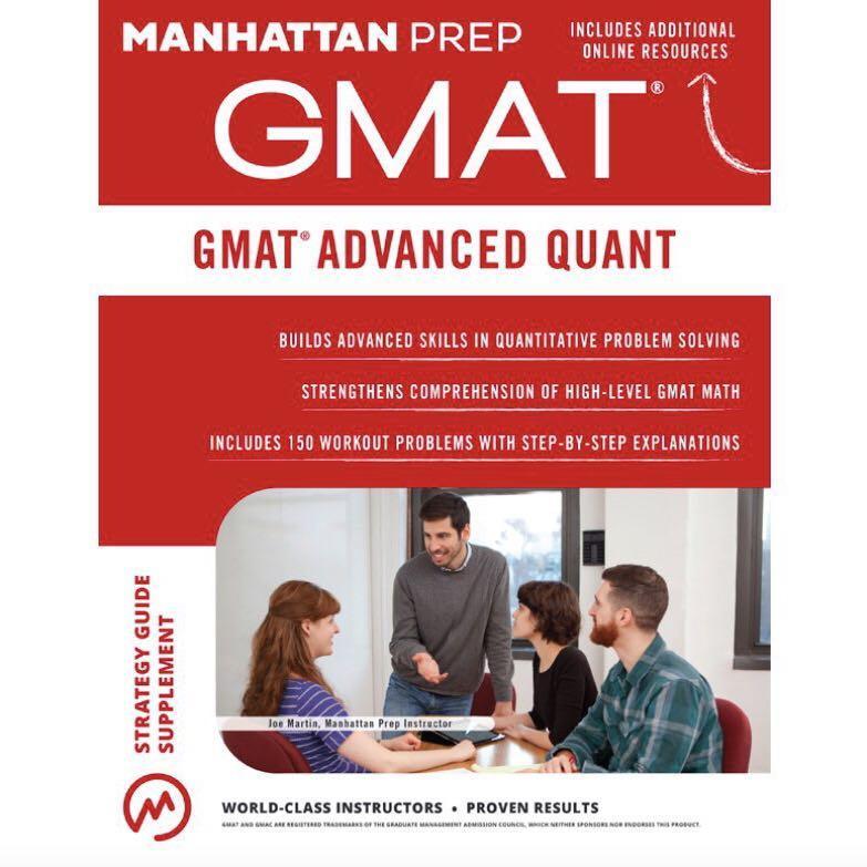 GMAT Advanced Quant by Manhattan Prep