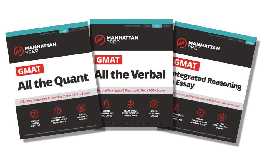 GMAT Strategy Guides by Manhattan Prep