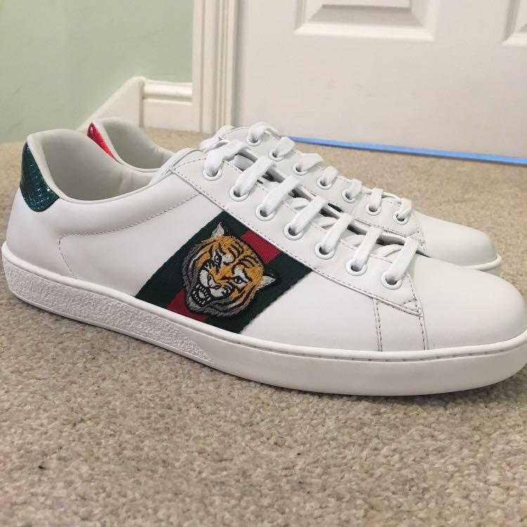 Gucci Tiger Sneaker, Men's Fashion