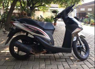 Honda Spacy A/T 110 cc Thn. 2011 surat lengkap! Pajak idup.