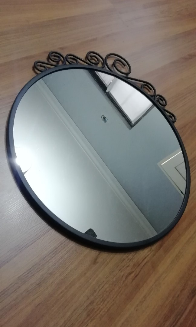 Ikea Ekne Round Mirror Home Furniture Home Decor On Carousell