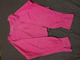 Jacket Pink Crop