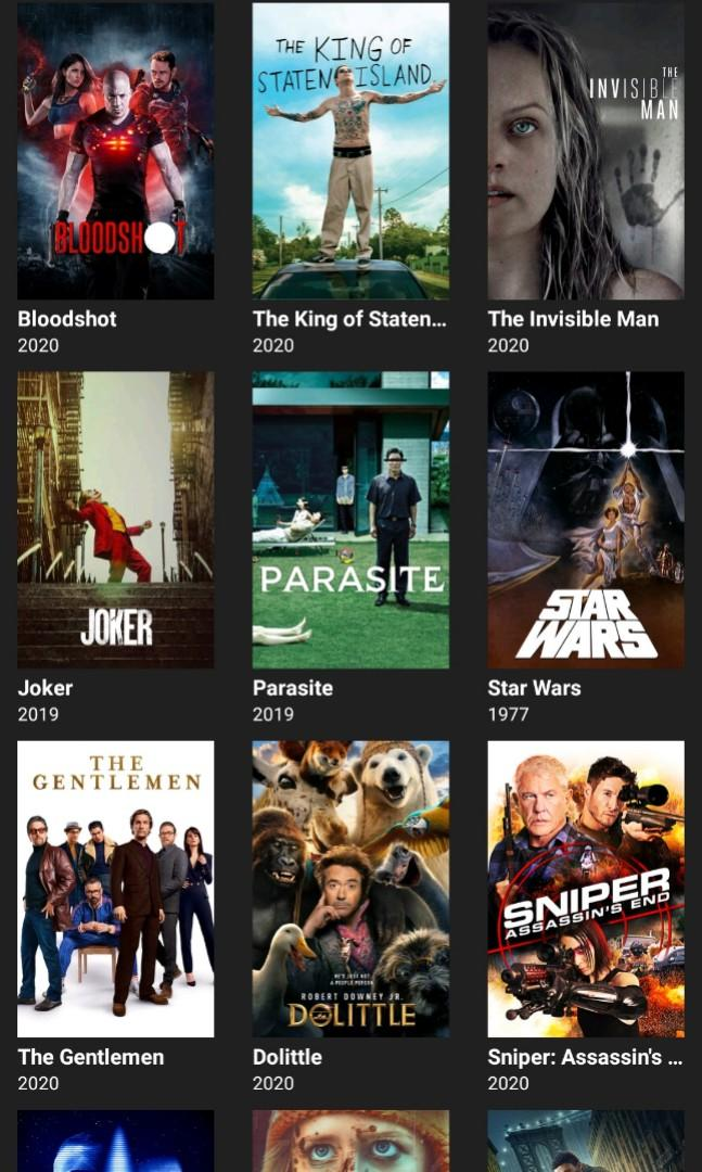 Lifetime Streaming Movies/Tv Shows/Drama (ONE TIME PAYMENT ONLY!) Like Apps Netflix & Iflix