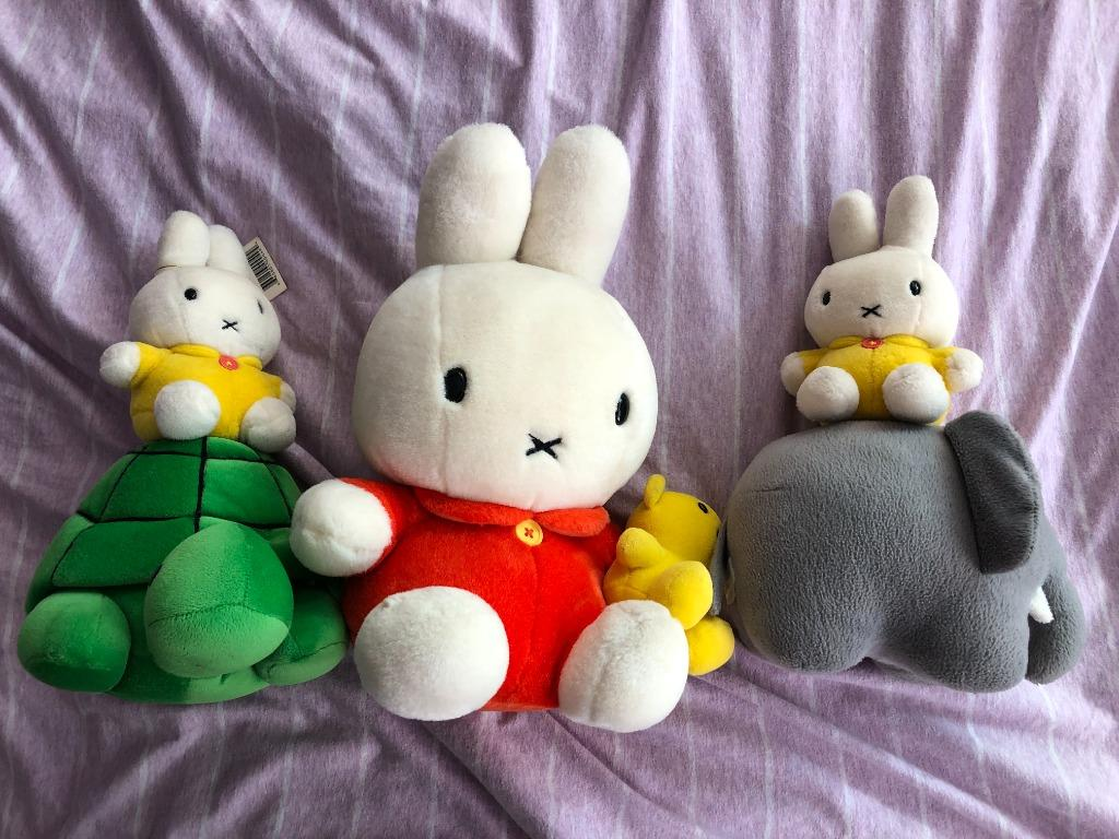 Miffy soft toys