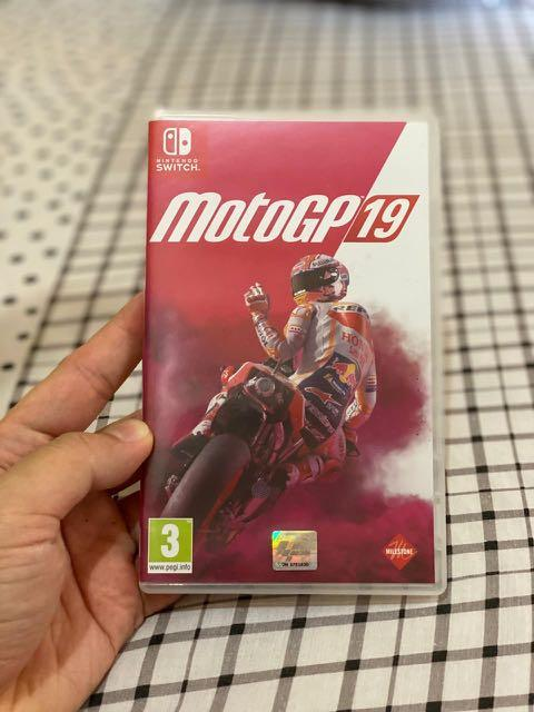 Nintendo Switch game moto gp 19