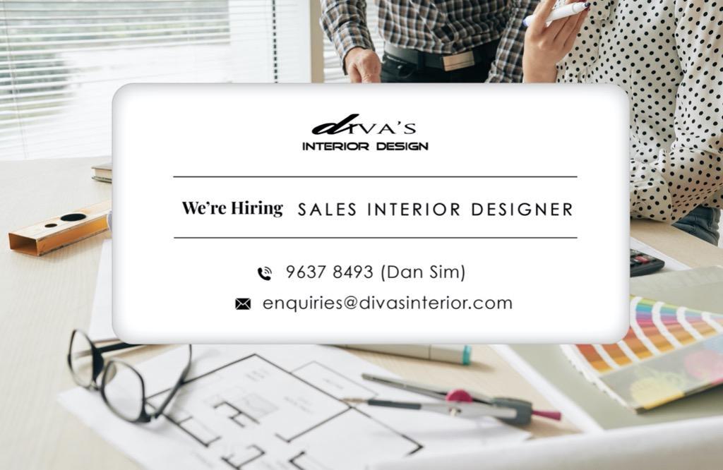 Sales Interior Designer