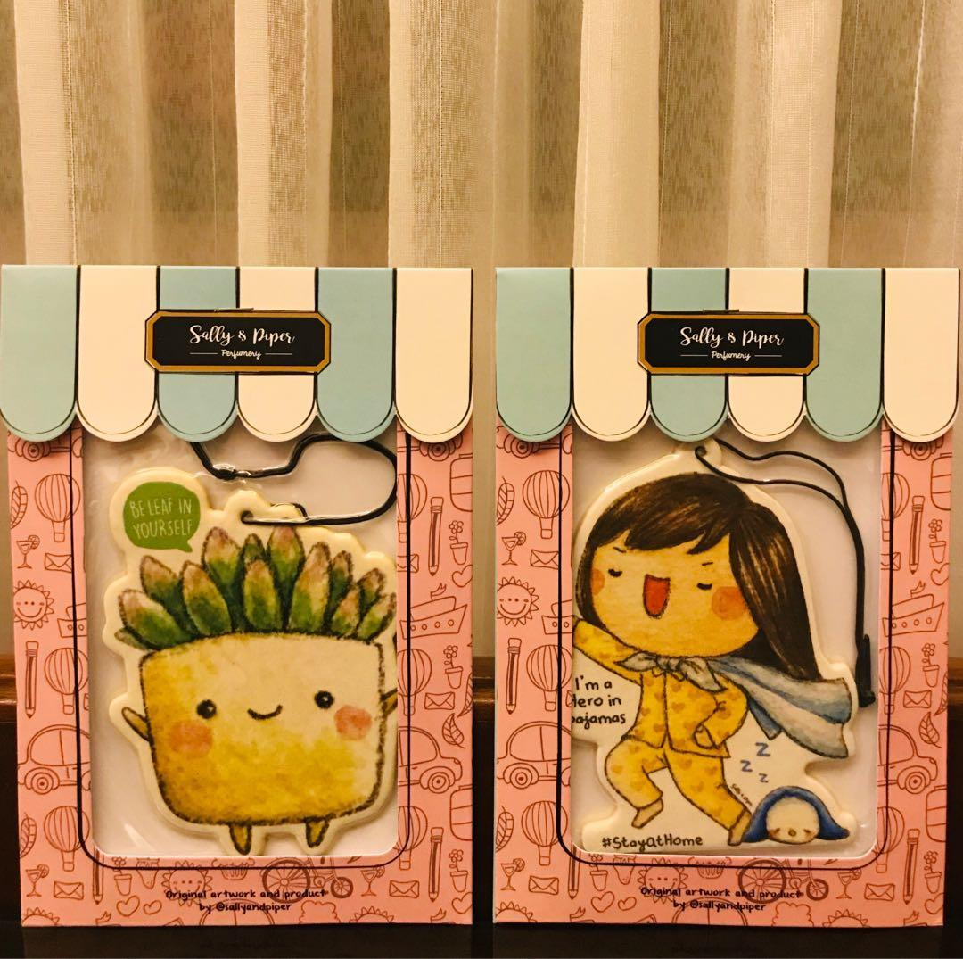 SALLY AND PIPER Air Freshener - Tea Garden/Fresh Linen Perfumery
