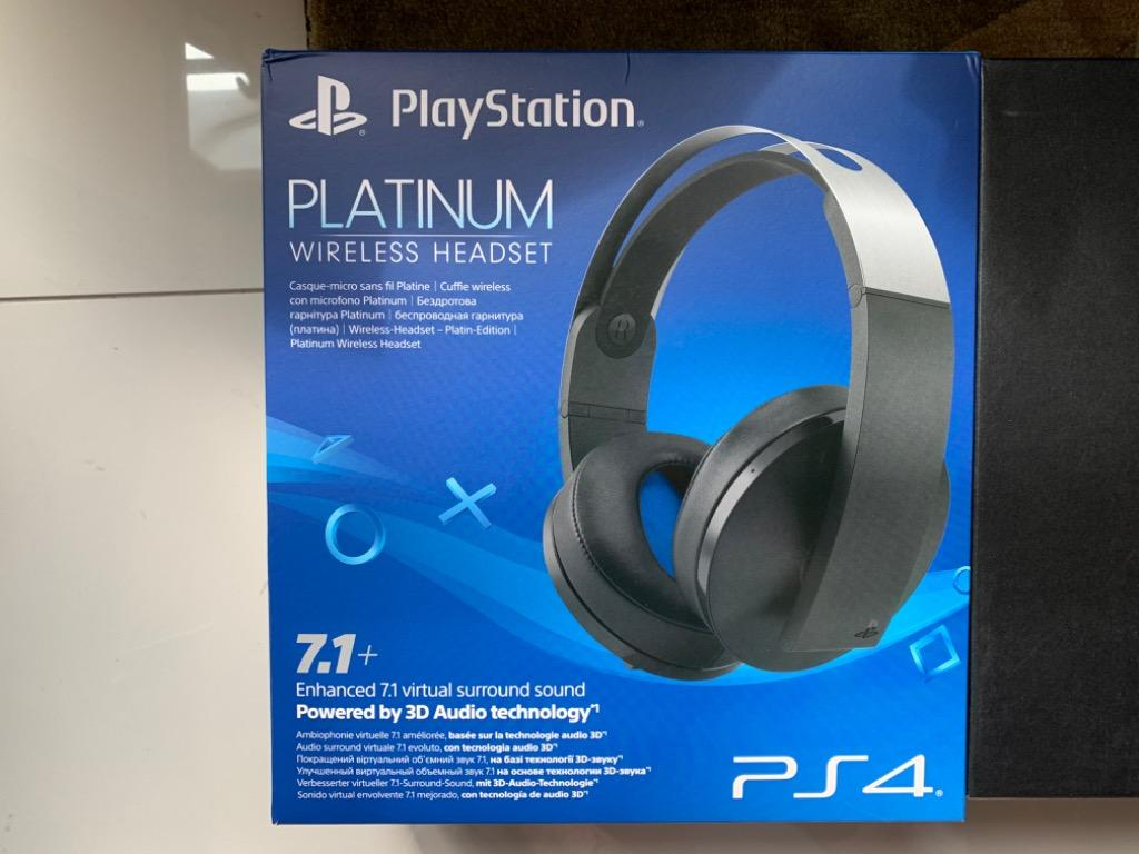 Sony Playstation Platinum Headset 7 1 Surround Sound Electronics Audio On Carousell