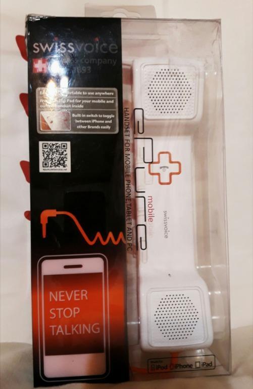 歐洲swiss voice 手機平版 電話筒
