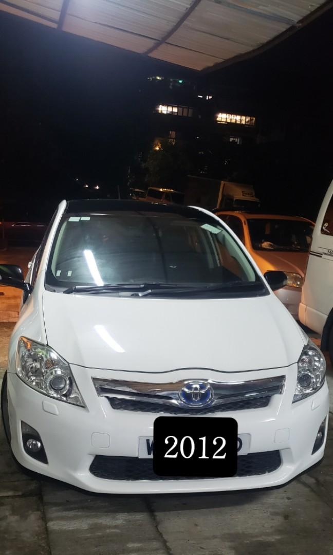 Toyota Auris 2012 auris hybrid Auto