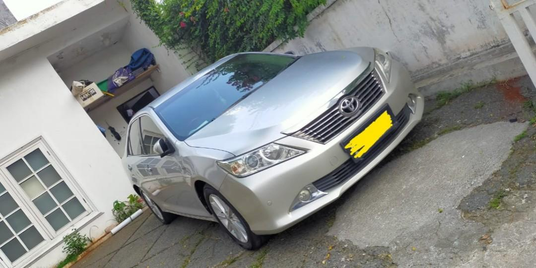 All new camry mewah
