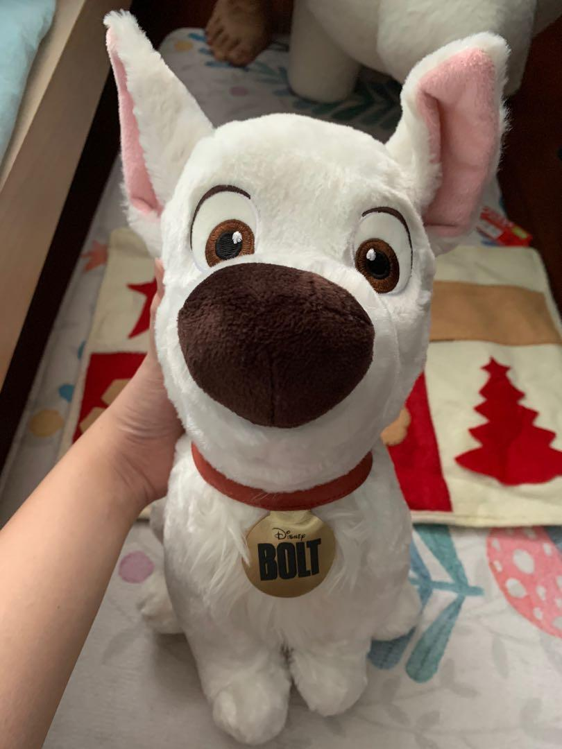 Authentic Original Bolt From Bolt Disney Toys Games Stuffed Toys On Carousell