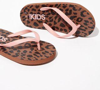 Cotton On Printed Slippers in Leopard Print  US8