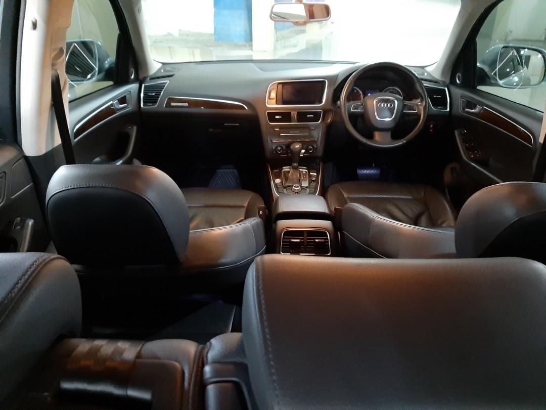 Di-Jual Th.2010 AUDI Q5 2.0T Automatic.Power Back DOOR.Elektrik SEAT.Kondisi ISTIMEWA.Nopol B(Genap).dijual cash/credit/bisa tukar-tambah