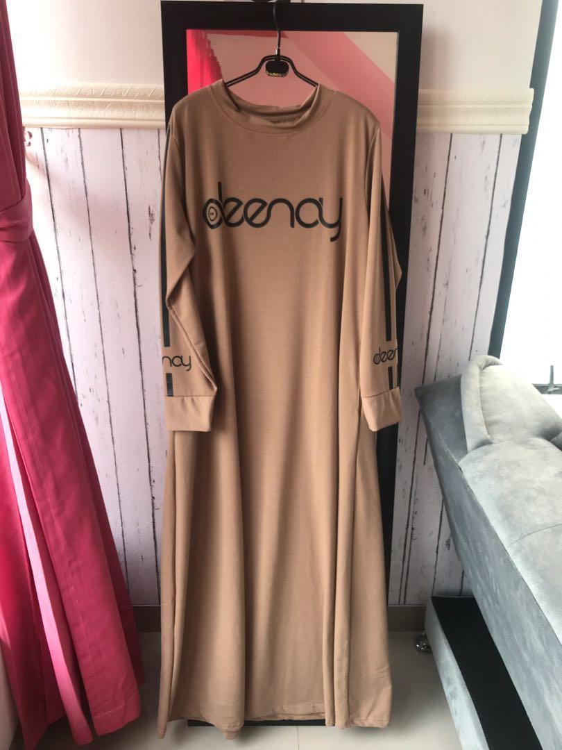 Gamis Deenay Fesyen Wanita Pakaian Wanita Gaun Rok Di Carousell