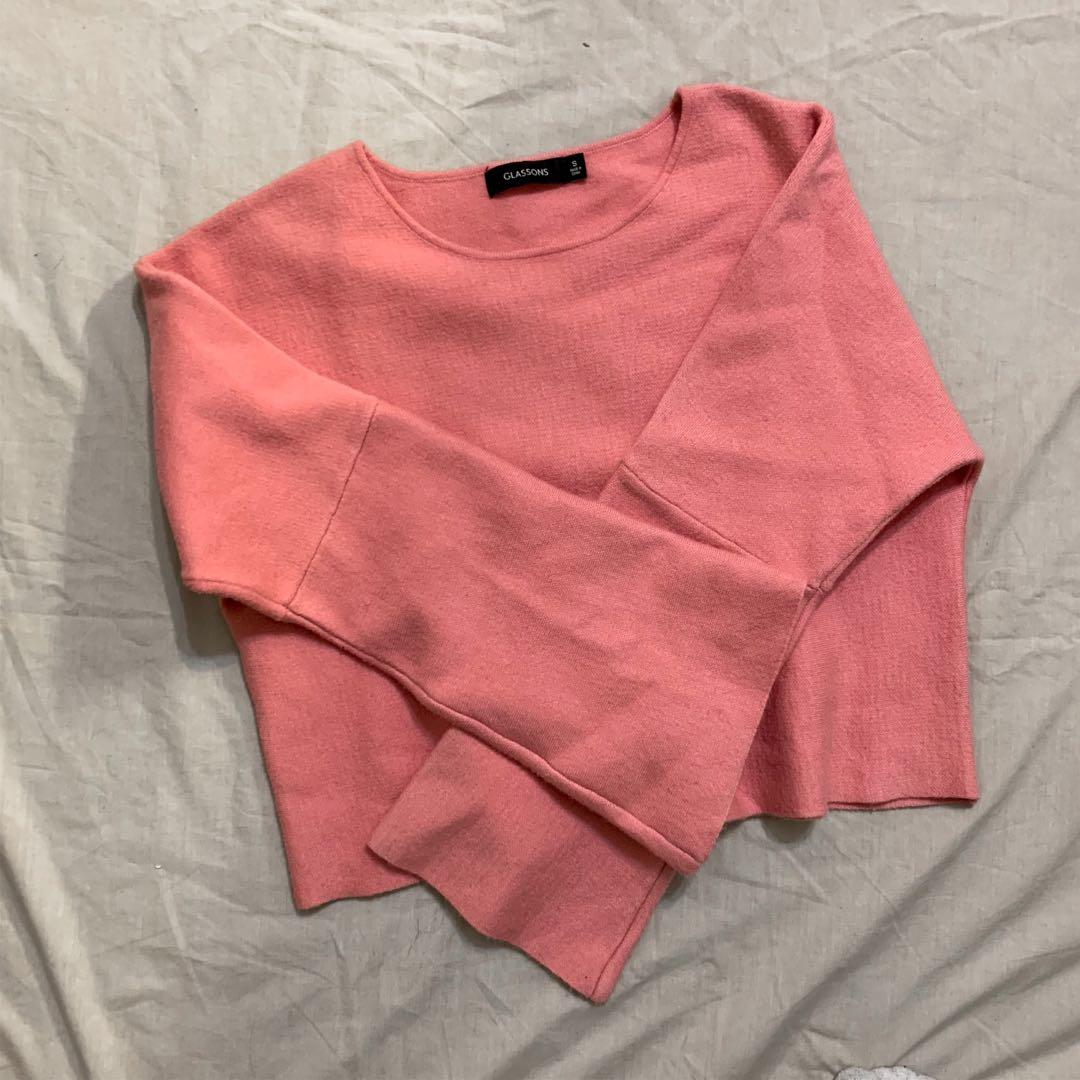 Glassons pink jumper