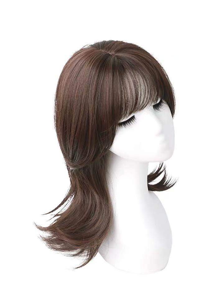 Hair Wig Shoulder Length Extension 2020 Korean Style Women S Fashion Accessories Hair Accessories On Carousell