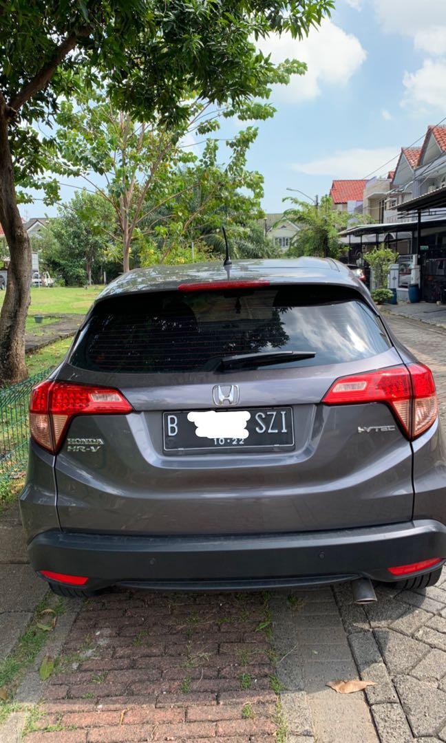 Jual Honda HRV Type E tahun 2017 Abu abu Grey Mulus Tangan Pertama Gress  Pemakian pribadi