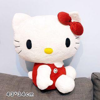 特價🉐️日貨🌟經典坐姿紅色蝴蝶結KITTY娃娃 #新開始