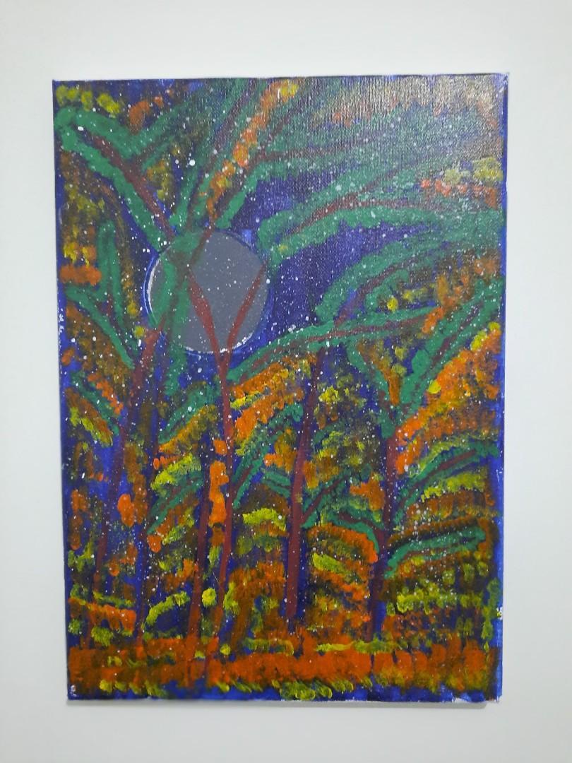 Lukisan hutan