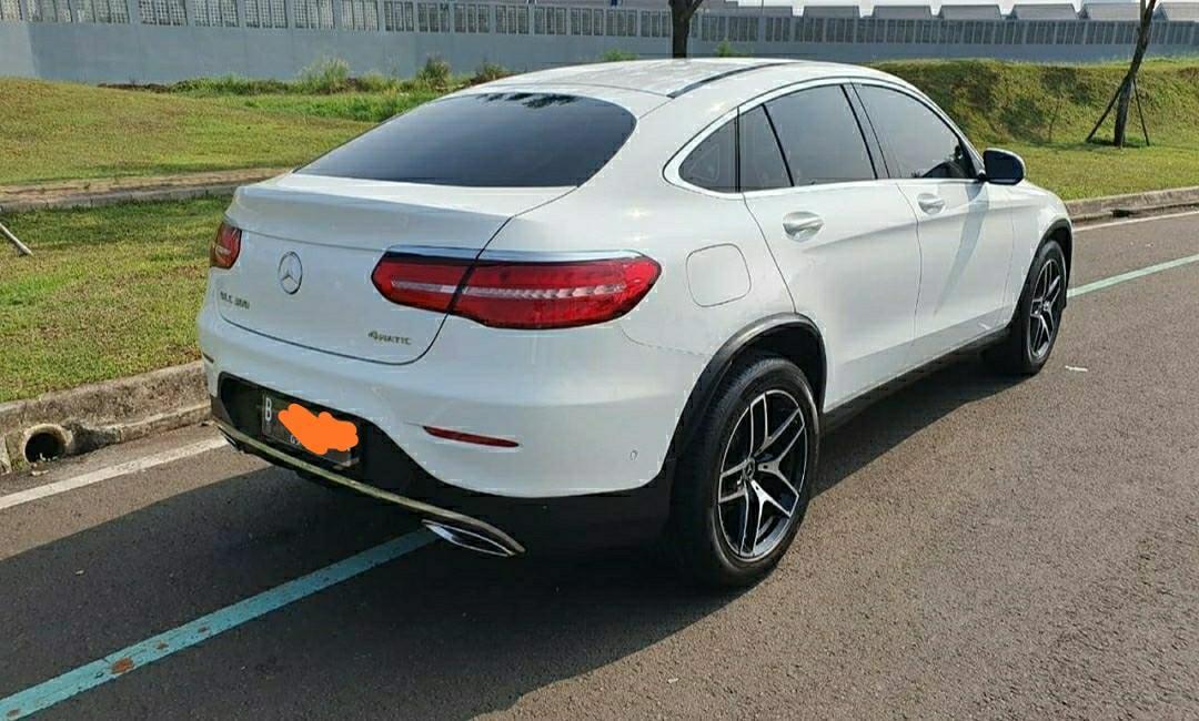 Mercedes Benz GLC 300 Coupe 2019