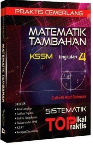 Praktis Cemerlang Matematik Tambahan Tingkatan 4 Books Stationery Books On Carousell